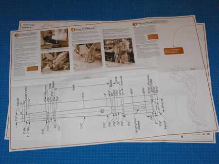 Federal Candle Table Woodworking Plan No22