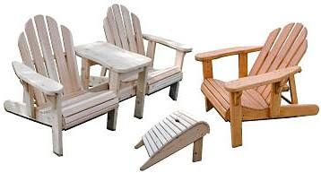 Adirondack Value Pack Woodworking Plan