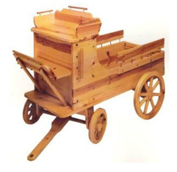 Old Time Toy Box Wagon Woodworking Plan