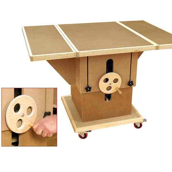 Adjustable 3-in-1 Assembly Table Woodworking Plan