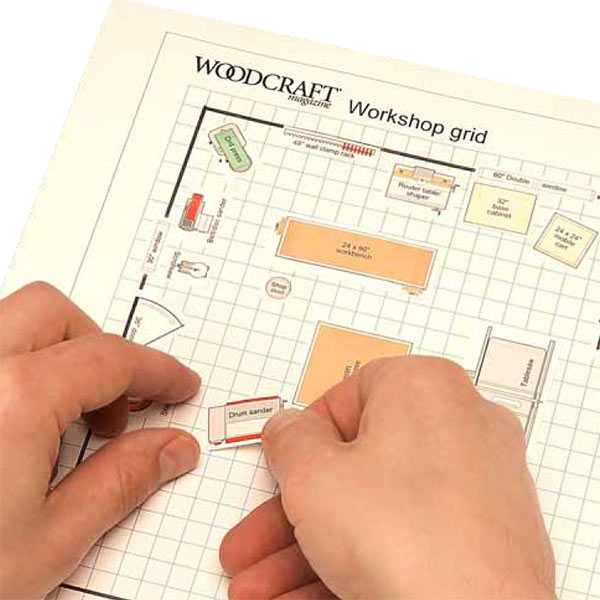 Dream Shop Planner Woodworking Plan