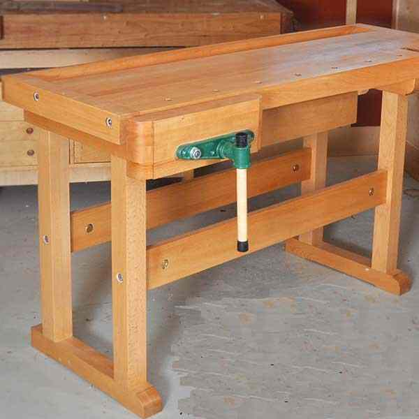 Classic Workbench Woodworking Plan