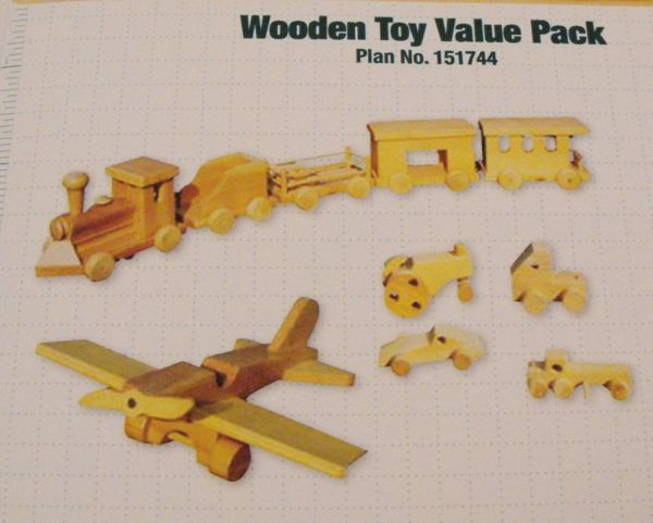 Toy Value Pack Woodworking Plan Set - all 16 plans included