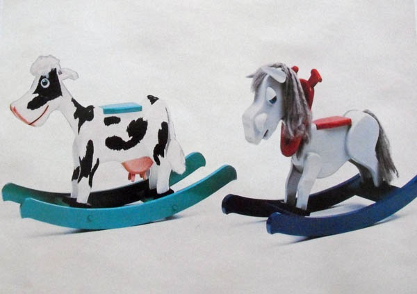 Baby Bessie and Mini Mare Woodworking Plan - 2 for 1