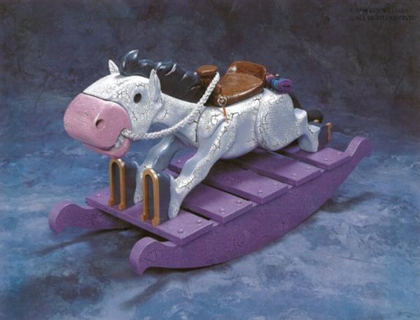 unicorn rocking horse plans