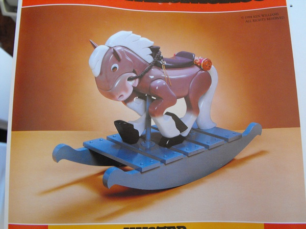 Kuster the Rocking Horse Woodworking Plan