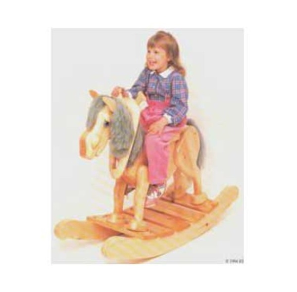 Old Grey Mare Childrens Rocking Horse Woodworking Plan