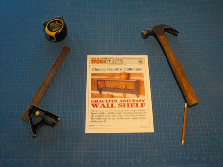 31-MD-00006 - Country Wall Shelf Woodworking Plan