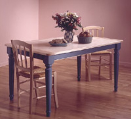 31-MD-00011 - Country Style Kitchen Table Woodworking Plan