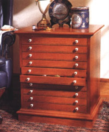Collectors Cabinet Woodworking Plan