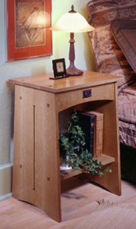 Mission Nightstand Woodworking Plan