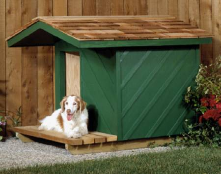 Insulated Doghouse Woodworking Plan