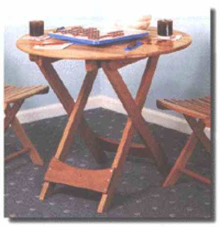 Folding Table Woodworking Plan