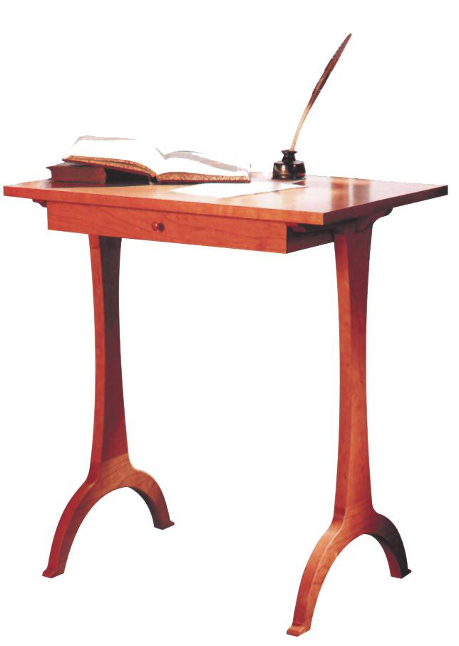 Shaker Side Table Woodworking Plan