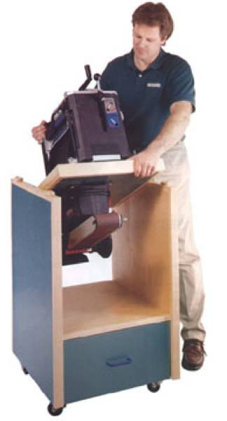 Swivel Topped Tool Cabinet Woodworking Plan.