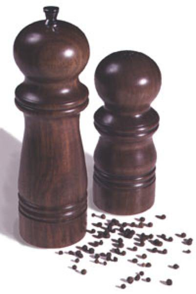 Pepper Mill and Salt Shaker Woodworking Plan