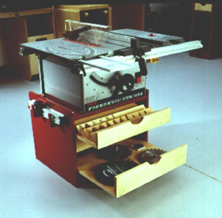 31-MD-00082 - Mobile Tablesaw Base Woodworking Plan