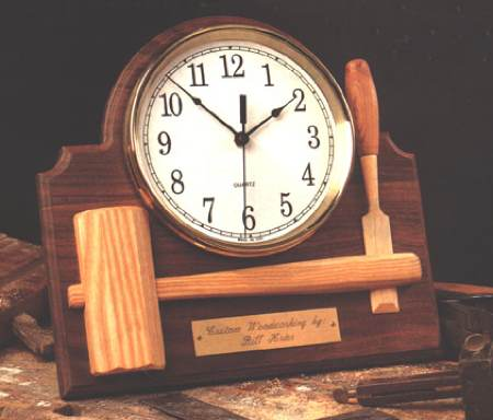 31-MD-00083 - Signature Shop Clock Woodworking Plan