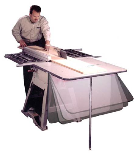 Tablesaw Outfeed Table Woodworking Plan