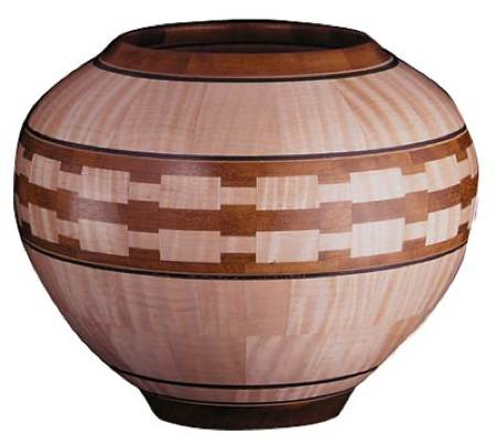 Segmented Lathe Bowl Woodworking Plan