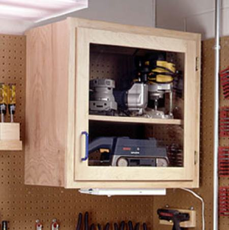Modular Shop Cabinet System Woodworking Plan