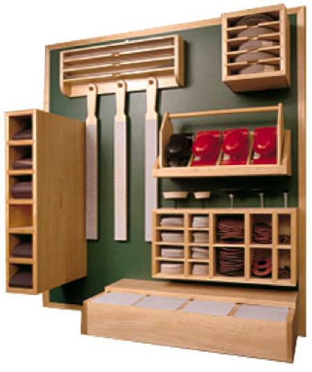 31-MD-00133 - Sanding Supply Center Organizer Woodworking Plan