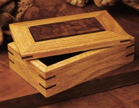 31-MD-00161 - Splined Ornamental Box Woodworking Plan.