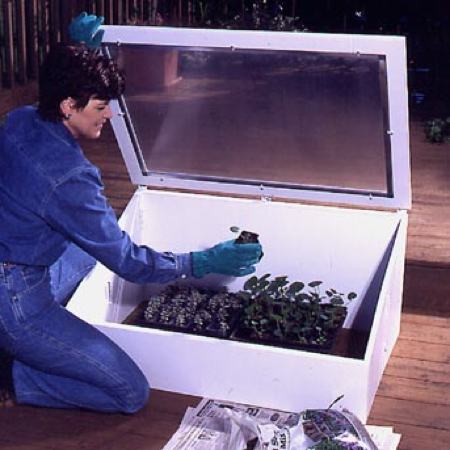 31-MD-00166 - Cold Frame Woodworking Plan