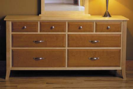 Eight Drawer Dresser Woodworking Plan.