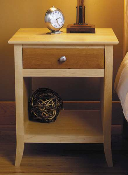 31-MD-00175 - Nightstand Woodworking Plan.