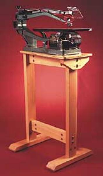 Scrollsaw Stand Woodworking Plan. - WoodworkersWorkshop