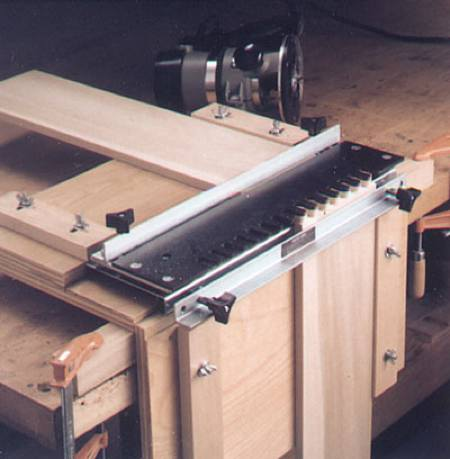 Dovetail Jig Stabilizing Fence Woodworking Plan