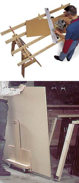 31-MD-00188 - Cutting Platform and Sheet Goods Mover Woodworking Plan