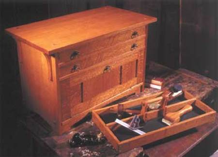 31-MD-00191 - Craftsmans Pride Tool Chest Woodworking Plan