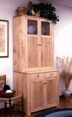 31-MD-00201 - Shaker Style Cupboard Woodworking Plan