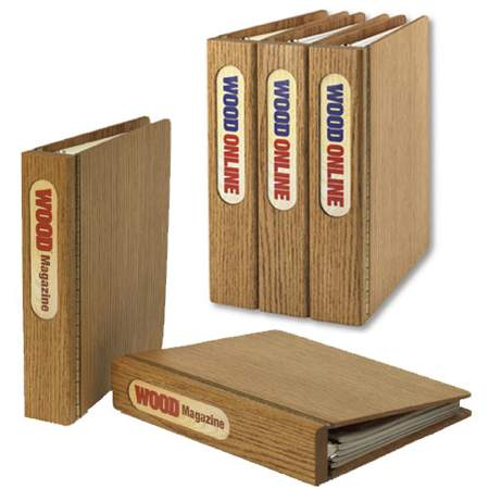 31-MD-00205 - Magazine Binder Woodworking Plan