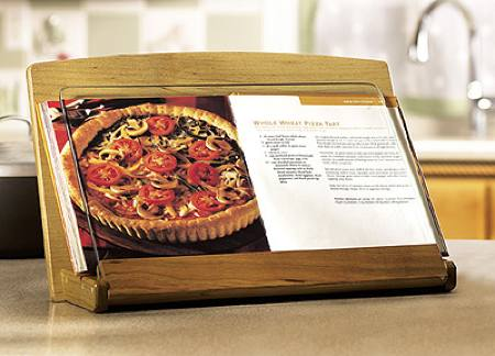 Cookbook Holder Woodworking Plan.