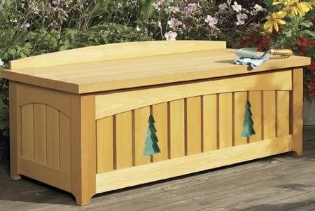 31-MD-00221 - Outdoor Bench Woodworking Plan.