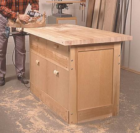 Labor of Love Workbench Woodworking Plan