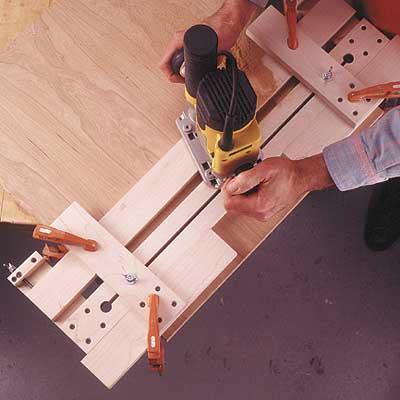 Fail Safe Router Jig Woodworking Plan