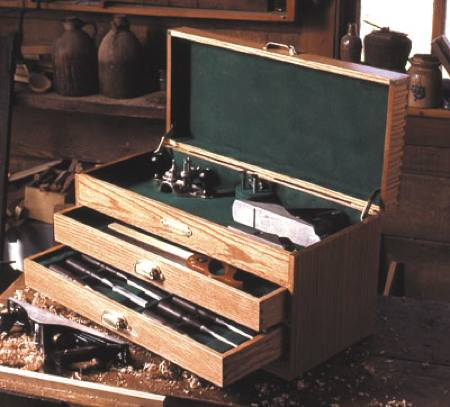 31-MD-00228 - Woodworkers Tool Chest Woodworking Plan