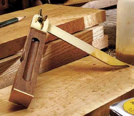 Angle Bevel Woodworking Plan