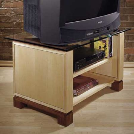 TV Stand Woodworking Plan