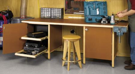Tough Stuff Workbench Woodworking Plan