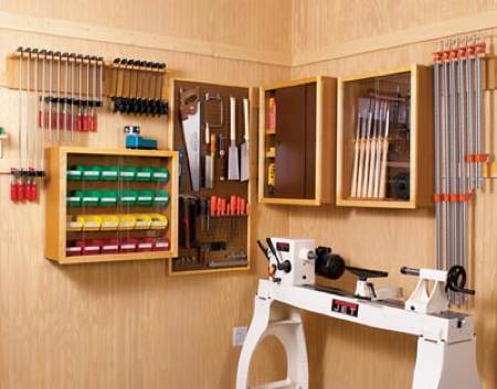 Super Flexible Workshop Storage Woodworking Plan