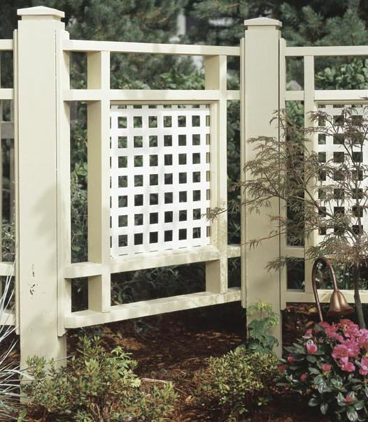 31 md 00323 good neighbor fence woodworking plan for Good neighbor fence plans