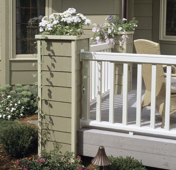 High Style Deck Railing Woodworking Plan