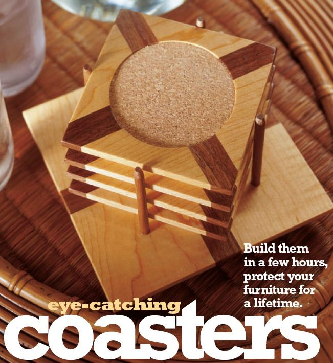 Coasters Woodworking Plan