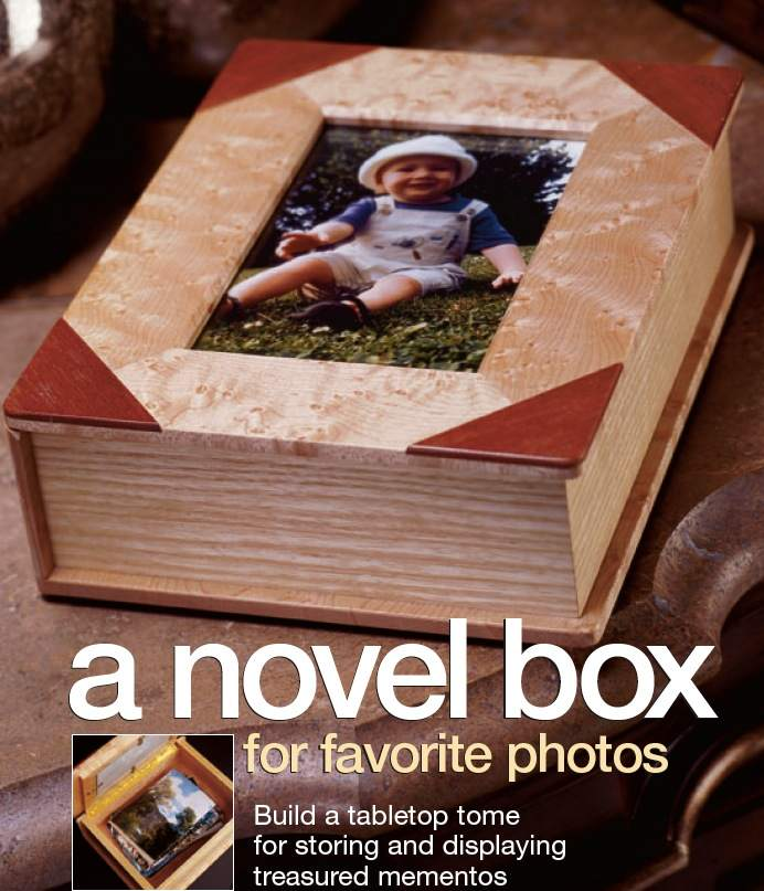 Photo Box Woodworking Plan