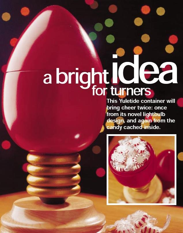 Bright Idea for Turners Woodworking Plan